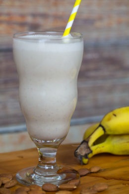 Banana Maple Nut Smoothie