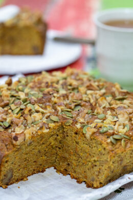 Orange Carrot and Zucchini Cake