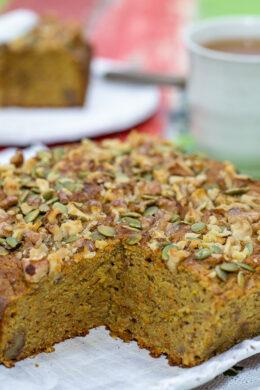 ORANGE, CARROT  AND ZUCCHINI CAKE